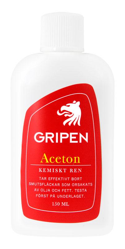 aceton med olja