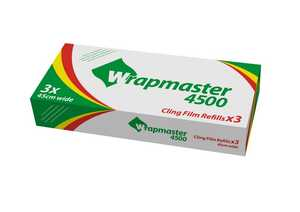 Wrapmasterfilm Wrap Film Systems PVC 45cmx300m