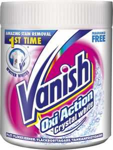 Textilrent Vanish Oxi Action Crystalwhite 500g