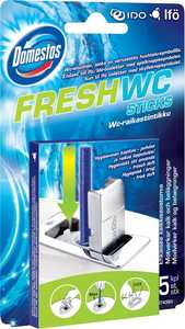 Sanitetsrent Domestos Fresh WC Stick Ocean 5st