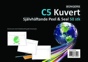 Kuvert Peel and Seal C5 med Remsa