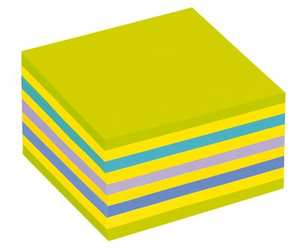 Blockkub 3M Post-it Kub Intensiv 76x76mm