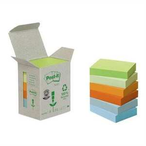 Notisblock 3M Post-it Pastell 653-1GB 6st