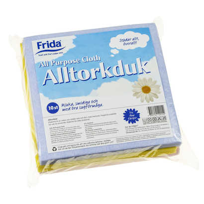 Alltorkduk Frida 10-pack