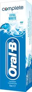 Tandkräm Oral-B Complete Extra White 75ml