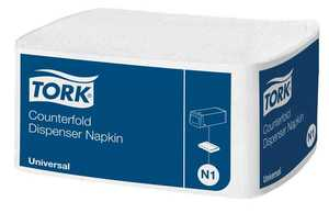 Dispenserservett Tork Counterfold Universal N1 30 x 33cm