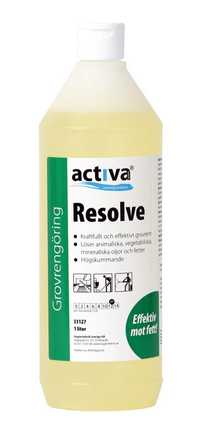 Grovrengöring Activa Resolve 1L 6st