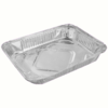 Folieform Zip Halvgastro Aluminium 2400ml 75st - Art.nr 3372400