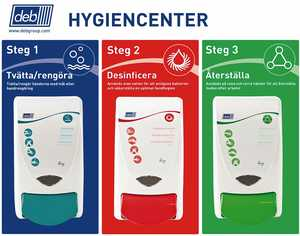 Hygiencenter Deb Stoko 3-Step Skin Hygiene Centre