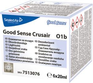 WC-doft Diversey Good Sense Refillpatron Crusair 20ml 12st