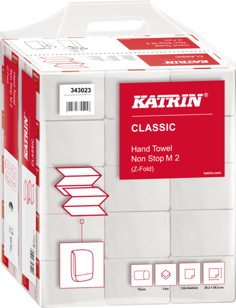 Pappershandduk Katrin Classic Non-stop M2 2025ark
