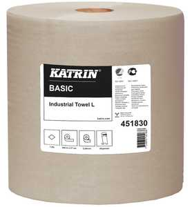 Industripapper Katrin Basic L Natur 2st