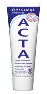 Tandkräm Acta Original 75ml