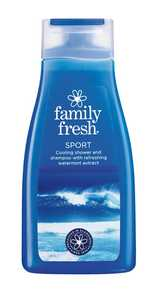 Shower & Schampoo Family Fresh Sport 500ml