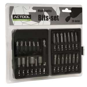 Bits-set Actool High Quality 28 Delar