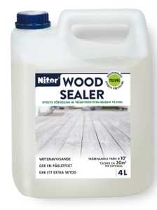 Nitor Wood Sealer 4L