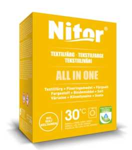 Textilfärg Nitor All in one Gul 230g