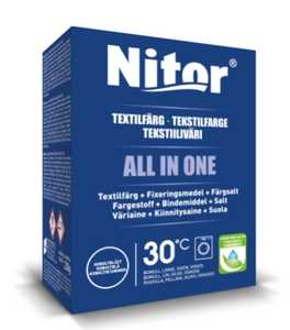 Textilfärg Nitor All in One Koboltblå 230g