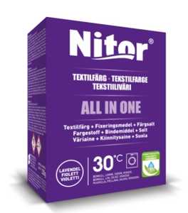 Textilfärg Nitor All in One Lavendel 230g