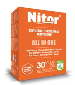 Textilfärg Nitor All in One Orange 230g