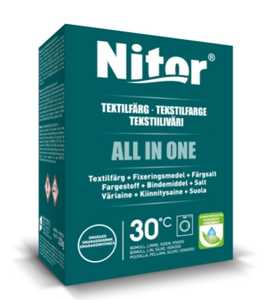 Textilfärg Nitor All In One Smaragd 230g