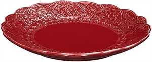 Assiette Cult Design Orient Cranberry Röd