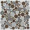 Mosaik Orbit Brown 30x30cm - Art.nr SH-R02AD
