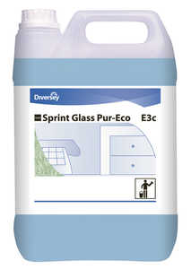 Fönsterputsmedel Diversey Sprint Glass Pur-Eco 5L 2st