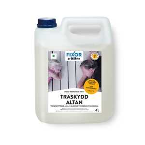 Träskydd Altan Nitor Wood Protection 4L