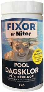 Dagsklor Fixor by Nitor Tabletter 20g för Pool 1kg