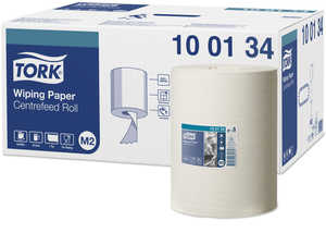 Industripapper Tork Avtorkning Advanced Centrumrulle Vit 6 st