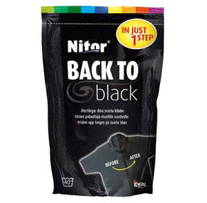 Textilfärg Nitor Back to Black 400g