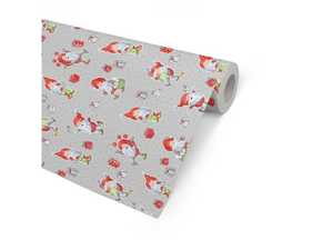 Julpapper Hedlunds Happy Santas 57cmx154m
